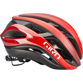 Giro Aether MIPS Cykelhjelm, mat bright red/dark red/black